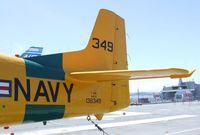 N4614 - North American T-28B Trojan at the USS Hornet Museum, Alameda CA