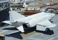153879 - McDonnell Douglas F-4S Phantom II, being restored at the USS Hornet Museum, Alameda CA