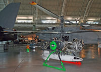 DS-1289 @ KIAD - The strange little aircraft is the first rotary-wing drone and the first rotor craft to carry a nuke. - by Daniel L. Berek
