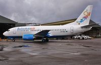 LN-BUG @ EGHH - Just repainted to Bahamasair livery. Reported going C6-BFC - by John Coates