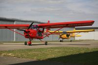 D-MIAP @ EDTX - the red one: A-22L2 D-MIAP the yellow one: A-22L2 SP-SKRB - by aleopo