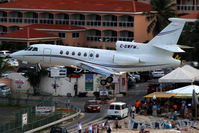 C-GWFM @ SXM - From the Sonesta Hotel - by Wolfgang Zilske