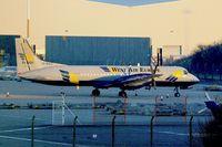 SE-MAO @ EGNX - 1989 British Aerospace ATP, c/n: 2011 on the East Midlands Cargo ramp