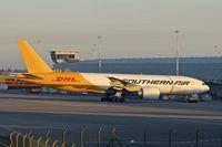 N777SA @ EGNX - 2012 Boeing 777-FZB, c/n: 37989 of Southern Air at East Midlands
