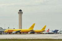 N792AX @ KMIA - Miami - now in DHL  livery - by Alex Feldstein