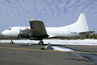 N153PA @ ANC - Parked near the C-133 - by fredwdoorn