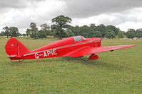 G-APIE @ X1WP - Tipsy Belfair at The De Havilland Moth Club's 28th International Moth Rally at Woburn Abbey. August 2013. - by Malcolm Clarke