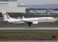 CN-ROU @ LFBO - Landing rwy 14R with french titles - by Shunn311