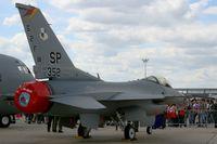 91-0352 @ LFPB - General Dynamics F-16CJ Fighting Falcon from the 480th FS, Static Display Paris-Le Bourget (LFPB-LBG) Air Show 2011 - by Yves-Q