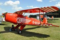 D-EFJR - biplane fly-in Montabaur, Germany - by Volker Hilpert