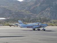 N16497 @ SZP - 1973 Piper PA-28-235 CHEROKEE CHARGER, Lycoming O-540-D4B5 235 Hp, taxi - by Doug Robertson