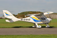 G-CGIZ @ EGBR - Flight Design CTSW at The Real Aeroplane Club's Pre-Hibernation Fly-In, Breighton Airfield, October 2013. - by Malcolm Clarke