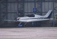 G-BTDR @ EGHH - Asleep at Thurston Aviation - by John Coates
