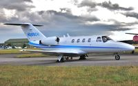 N665CH @ EGHH - Parked at Citation Centre - by John Coates