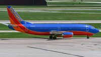 N395SW @ KSAT - taxying to the gate