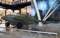 191301 @ KIAD - Very interesting semi-tailless delta-wing German aircraft. - by Daniel L. Berek