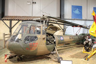 XL813 @ EGVP - XL813 Skeeter in the museum at Middle Wallop - by Pete Hughes