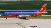 N395SW @ KSAT - taxying to the active