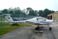 C-GCVX @ CYKF - Diamond DA 20-A1 Katana [10296] Kitchener-Waterloo Regional 24/06/2005 - by Ray Barber