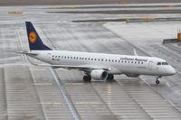 D-AEBJ @ LOWW - Lufthansa City Line Embraer 190 - by Thomas Ranner