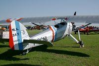 F-BCNL @ LFFQ - Morane Saulnier MS 317, La Ferté Alais Airfield (LFFQ) Air Show 2012 - by Yves-Q