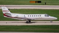N939TW @ KSAT - taxying to the active