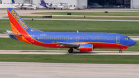 N636WN @ KSAT - taxying to the gate