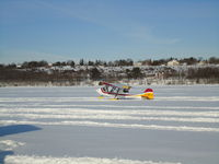 C-IBVT - ON THE ICE OTTAWA RIVER VALLEY - by RAY NASH