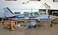 C-GDUX @ CYTZ - Beech 95-B55 Baron [TC-2399] Toronto-City Centre Airport~C 22/06/2005 - by Ray Barber