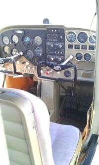 C-GOWR - C-GOWR instrument panel. - by Dave Carnahan