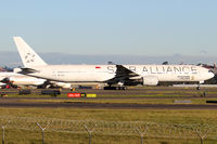 9V-SYL @ YSSY - STAR ALLIANCE C/S - by Bill Mallinson