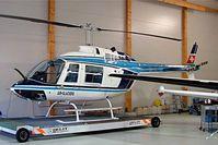 HB-XHO @ LSGC - HB-XHO   Agusta-Bell 206A Jet Ranger [8155] (Air-Glaciers) La Chaux-de-Fonds~HB 09/04/2009