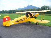 A-11 - Bücker Jungmann 1937 Switzerland - by Peter Jaeger