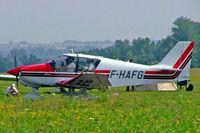 F-HAFG @ LFLV - Robin DR.400/140B Dauphin 4 [2580] Vichy~F 08/07/2006