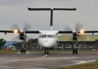 C-GRGF @ EGHH - Taxiing to depart - by John Coates