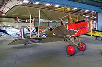 F-AZCY @ LFFQ - Royal Aircraft Factory SE.5A Replica [03] La Ferte Alais~F 06/07/2006