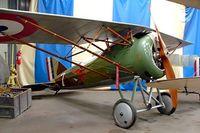 F-AZAP @ LFFQ - Morane-Saulnier MS.30 A-1 Replica [03] La Ferte Alais~F 06/07/2006