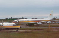 SU-BAG @ STN - Boeing 707-321C of Uganda Airlines as seen at Stansted in the Summer of 1978. - by Peter Nicholson