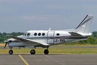 LX-PRG @ LFOZ - Beech C90B King Air [LJ-1526] (Europe Air Service) Orleans-St. Denis~F 06/07/2006 - by Ray Barber