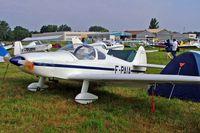 F-PAIA @ LFLV - Nicollier HN.700 Menestrel [124] Vichy~F 08/07/2006