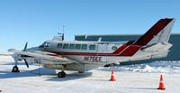 N175EE @ KDVL - Beech C-99 of Bemidji Aviation on the ramp in Devils Lake, ND. - by Kreg Anderson