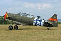 F-AZRB @ LFFQ - North American SNJ-5 Texan [88-17955] La Ferte Alais~F 06/07/2006