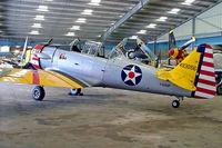 F-AZMP @ LFFQ - North American T-6G Texan [168-160] La Ferte Alais~F 06/07/2006