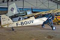 F-BGUV @ LFFQ - Morane-Saulnier MS.317 [6551/297] La Ferte Alais~F 06/07/2006