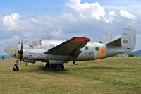 F-AZFX @ LFFQ - Dassault MD.311 Flamant [282] La Ferte Alais~F 06/07/2006