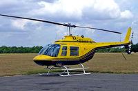 F-GKGR @ LFFQ - Agusta-Bell 206B Jet Ranger II [8294] La Ferte Alais~F 06/07/2006