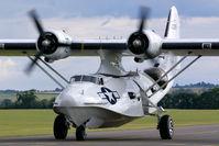 G-PBYA @ EGSU - Flying Legends - by Fred Willemsen
