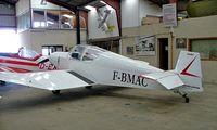 F-BMAC @ LFFQ - Jodel D.112 [1215] La Ferte Alais~F 06/07/2006 - by Ray Barber