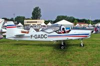 F-GADC @ LFLV - Fournier RF-6B-100 [15] Vichy~F 08/07/2006