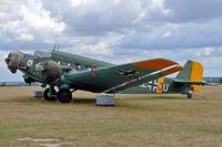 F-AZJU @ LFFQ - Junkers CASA 352L [103] La Ferte Alais~F 06/07/2006